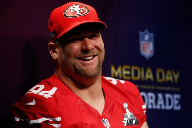 Justin Smith Signs 2-Year Contract Extension With San Francisco 49ers