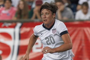 Honored Wambach Hoping to Break Hamm's Goal-Scoring Record Soon