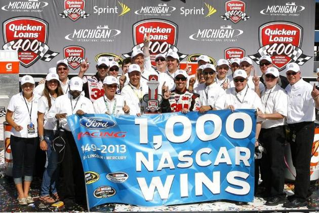 Ford Racing Video Celebrates 1,000 Race Wins in NASCAR