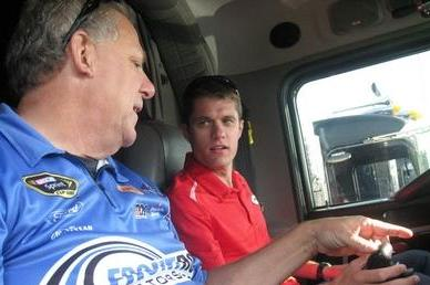 David Ragan Driving Team Hauler to California This Week: Autoweek