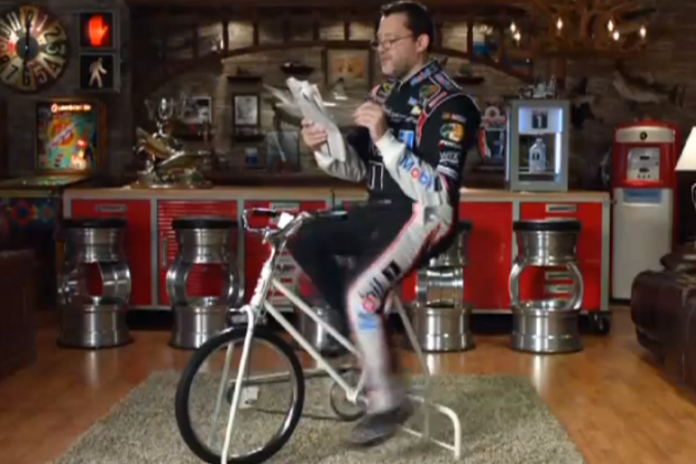Tony Stewart and Jenson Button Team Up for Another Mobil 1 Ad