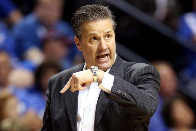 Calipari Shows Off Pace Car He'll Drive for Kentucky NASCAR Race