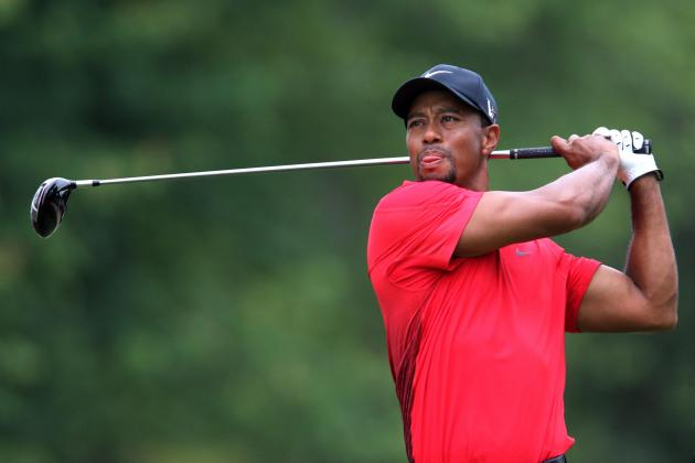 Tiger Woods Withdraws From AT&T National With Strained Elbow