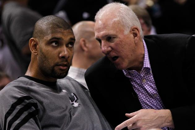 Popovich Explains Decision to Sit Duncan Late in Game 6