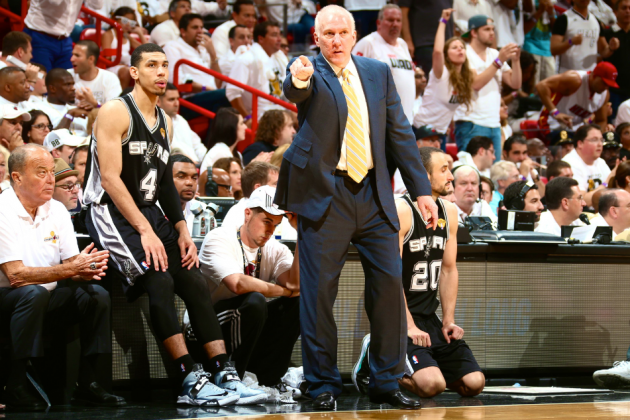 Gregg Popovich Chokes Away Spurs' Best Shot at NBA Title