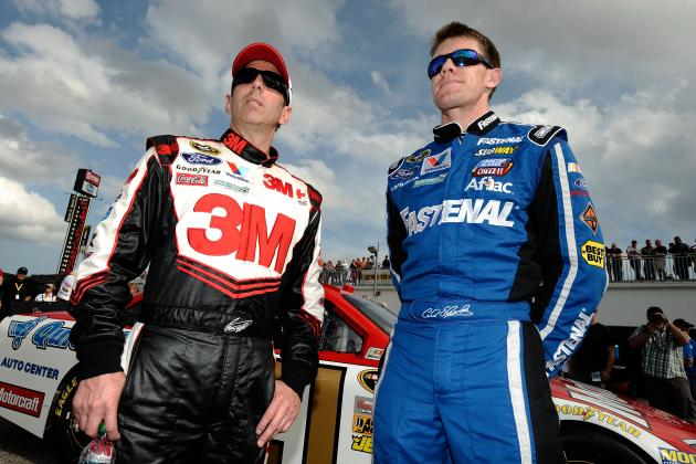 Greg Biffle and Carl Edwards Raise Interesting Teammate Question