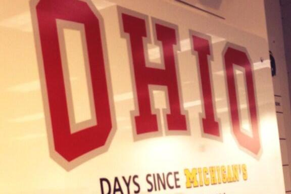 Michigan's Motivational Locker Room Sign Adds Fuel to Ohio State Rivalry