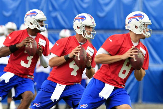Doug Marrone: No Timetable on Buffalo Bills Quarterback Competition