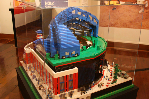 Lego Wrigley Field Featured in Amazing 'Big Leagues, Little Bricks' Display