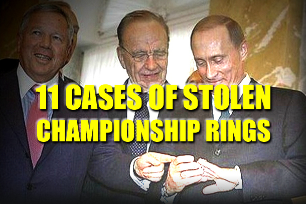 Sports Bling Larceny: 11 Cases of Stolen Championship Rings