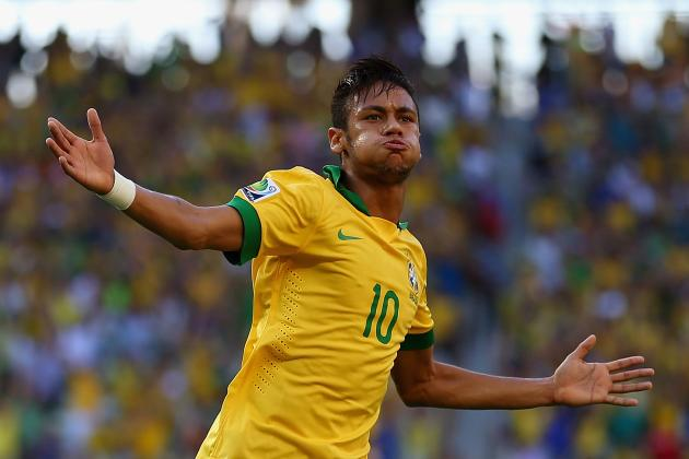Mexico vs. Brazil 2013: Neymar Puts on Stunning Show in 2-0 Win