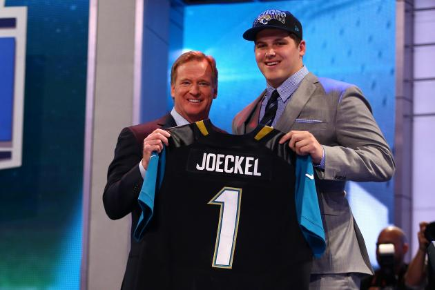 Luke Joeckel: Falling to No. 2 in Draft Wasn't Pleasant