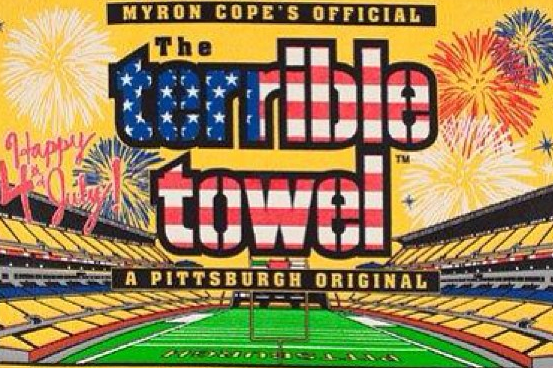 Happy 4th of July from the Steelers