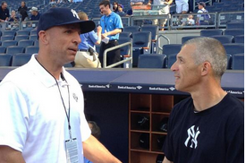 Kidd and Joe Girardi Meet Up Before First Pitch
