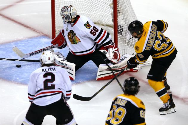 ESPN Gamecast: Blackhawks vs. Bruins