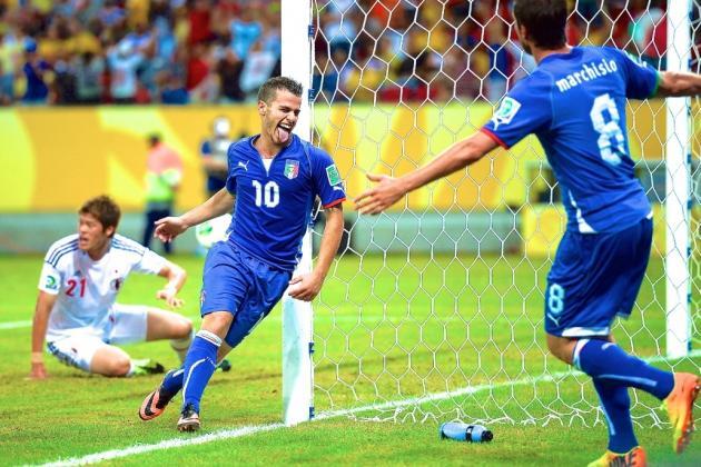 Italy vs. Japan: Confederations Cup Live Score, Highlights, Recap