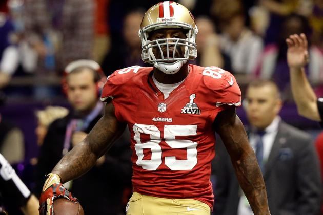 TE Vernon Davis to Receiver for Minicamp