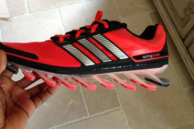 Robert Griffin III Debuts Newest Adidas Shoes