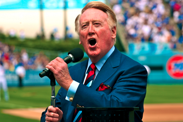 Vin Scully Takes over Dodgers Twitter Feed: Highlights and Reaction