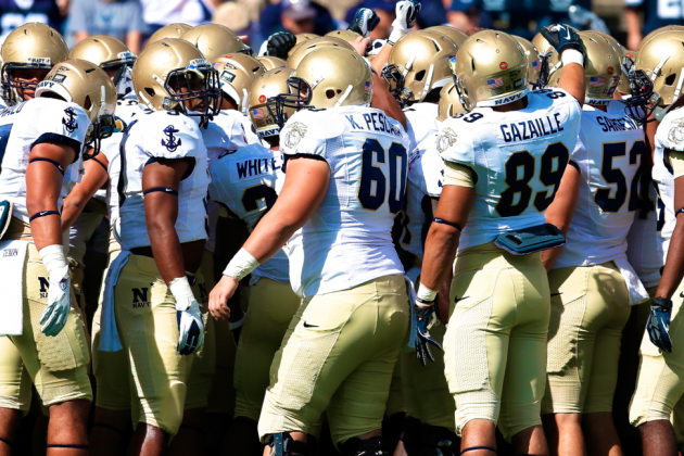 3 Navy Football Players Charged with Rape