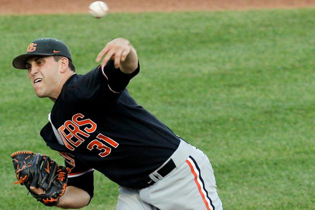 Masterful Matt: Oregon State's Boyd Pitches the Beavers to CWS Final Four
