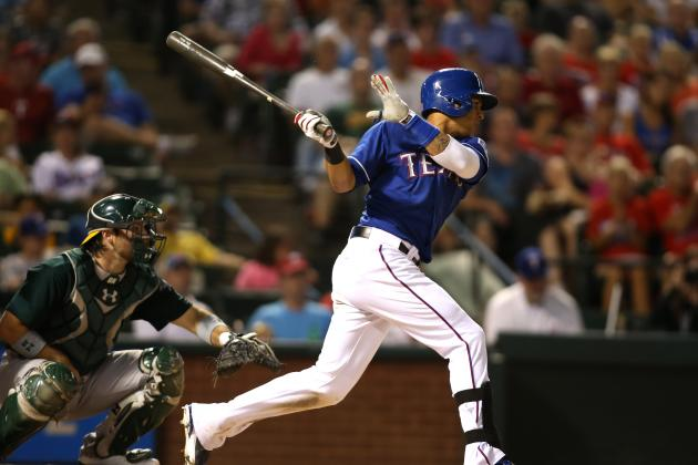 Murphy out of Slump, Leads A's Past Rangers