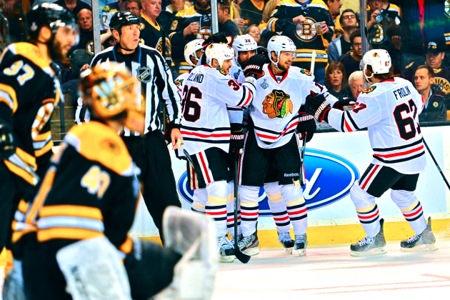 Blackhawks vs. Bruins Game 4: Score, Twitter Reaction and Analysis