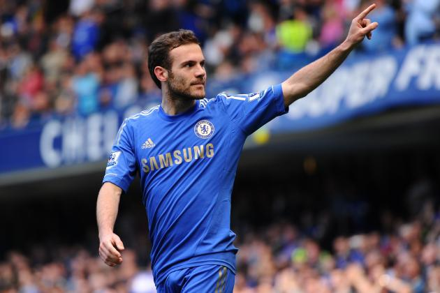 Chelsea Transfer Rumours: Blues Can't Afford to Lose Juan Mata over Contract