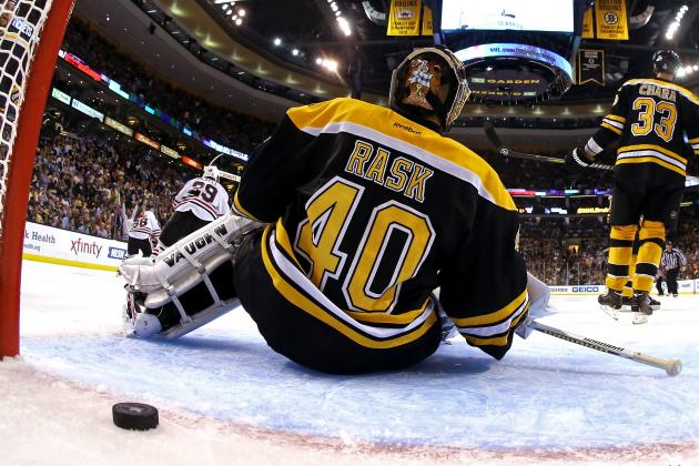 Tuukka Rask Is Actually Human