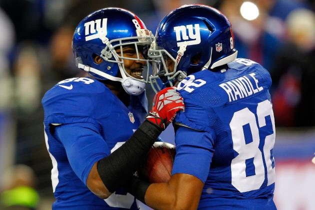 Hakeem Nicks' Future with the Giants Tied to What Rueben Randle Does in 2013