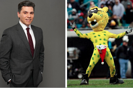 NFL Columnist Spars with NFL Mascot on Twitter