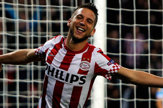 Dries Mertens Set to Become Rafael Benitezs First Signing as Napoli Manager