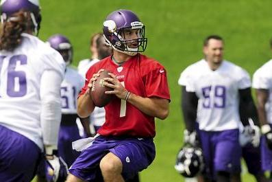 Christian Ponder Reportedly Spotty in Vikings Practice
