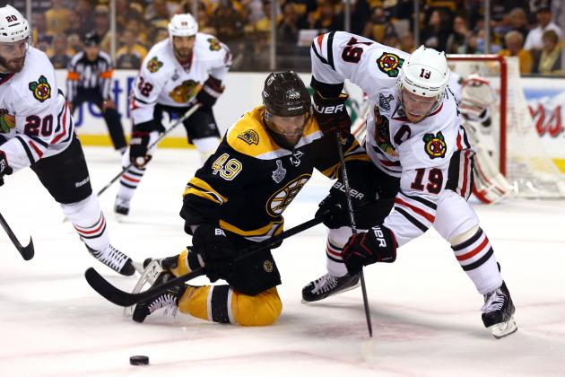 NCAA Players Play Parts in Game 4 of Stanley Cup Final