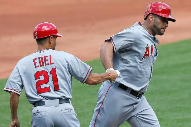 Albert Pujols Is Finally Feeling Good (and Hitting)