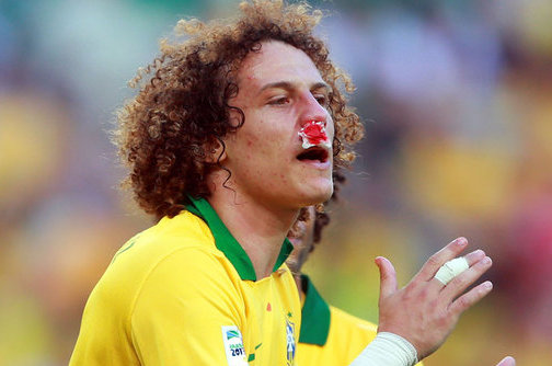 Chelsea and Brazil Defender David Luiz Requires Surgery on Broken Nose