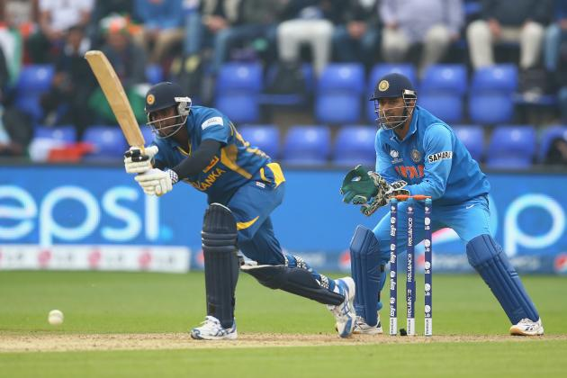 ICC Champions Trophy 2013: India vs. Sri Lanka Semifinal Score and Recap