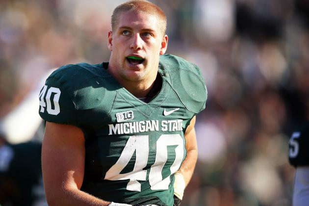Riley Bullough Will Be a Tailback for Michigan State