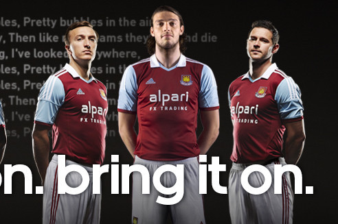 West Ham United Launch New Adidas Home Kit With Tagline 'Put It On, Bring it On'