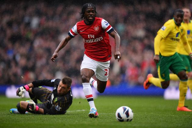 Arsenal Transfer News: Gervinho Exit Would Be Best Move for All Sides