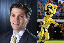 NFL Writer Gets into Heated Twitter Battle with Jacksonville Jaguars Mascot