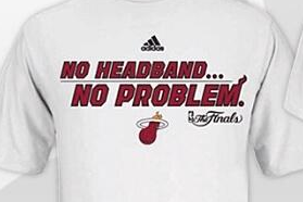 Heat Create 'No Headband/No Shoes', Shirts