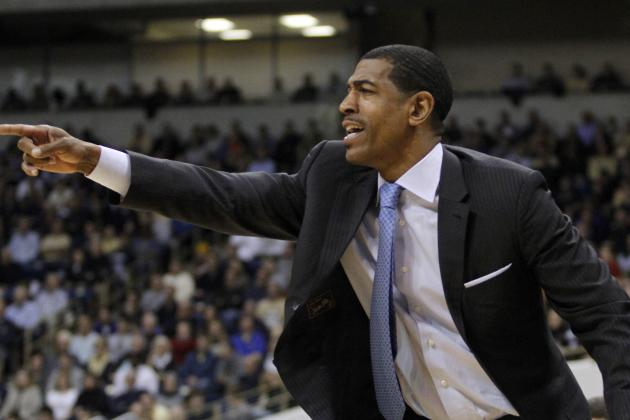 UConn Coach Kevin Ollie Happy with Team, and Golf Game (video)