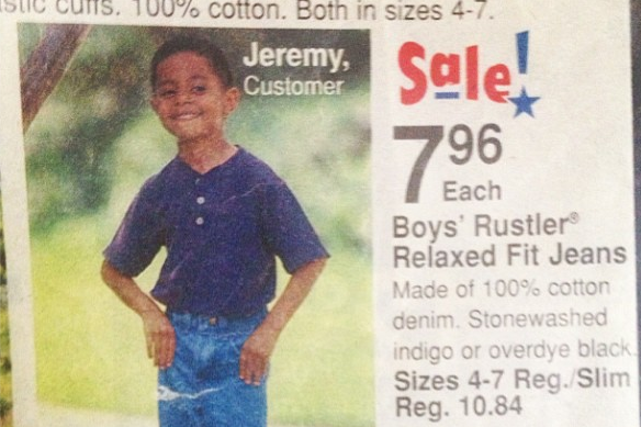 Jeremy Lamb Was in a Walmart Catalog as a Small Child