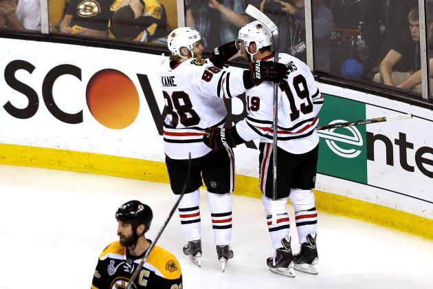Chicago Blackhawks vs. Boston Bruins: Bottom Line for 'Hawks Is Game 4 Win