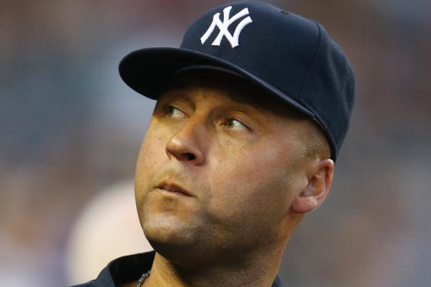 Yankees' Jeter Takes First BP Since Setback