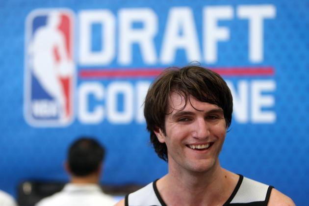 Kansas Center Jeff Withey Shows off Shooting Skills in Pre-Draft Workout