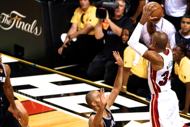 Ray Allen Proving Why He Is Perfect Fit on This Miami Heat Team