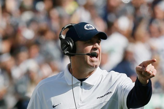 Penn State Amends Contract for Head Football Coach Bill O'Brien
