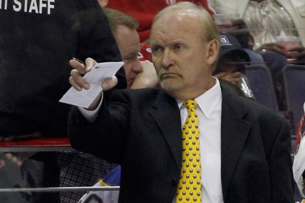Report: Lindy Ruff to be Next Head Coach of Dallas Stars